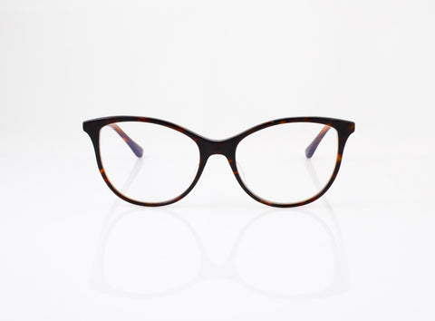 DITA Daydreamer in Dark Tortoise Coffee Caramel, front view, from Specs Optometry