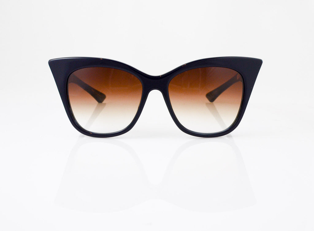 DITA Magnifique Sunglasses in Navy, front view, from Specs Optometry