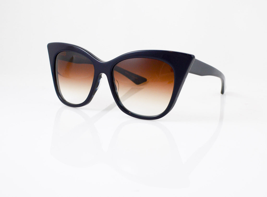 DITA Magnifique Sunglasses in Navy, side view, from Specs Optometry