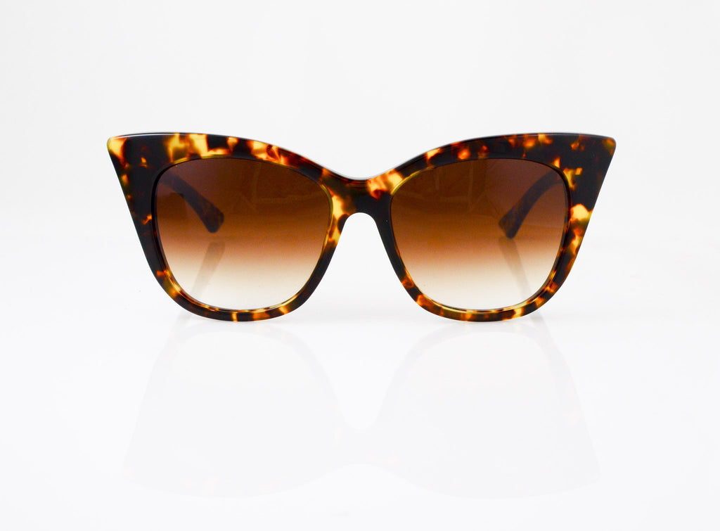DITA Magnifique Sunglasses in Tokyo Tortoise, front view, from Specs Optometry