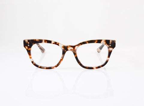 DITA Rhythm Eyeglasses in Cream Tortoise with 14k Gold, front view, from Specs Optometry