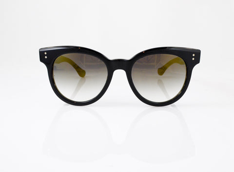 DITA Sunspot Sunglasses in Black, front view, from Specs Optometry
