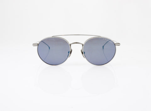 DITA Journey Sunglasses in Black Palladium, front view, from Specs Optometry