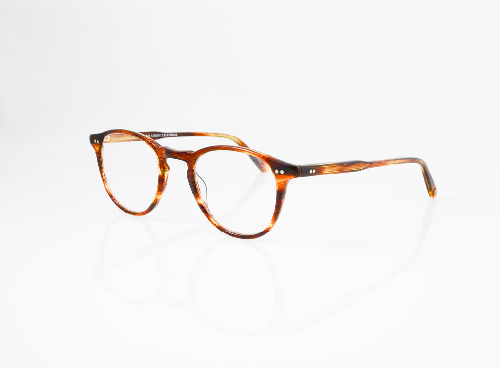 GLCO Hampton (44) Eyeglasses in Chestnut, side view, from Specs Optometry