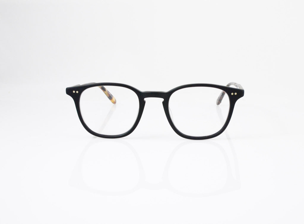 GLCO Clarks Eyeglasses in Matte Black, front view, from Specs Optometry