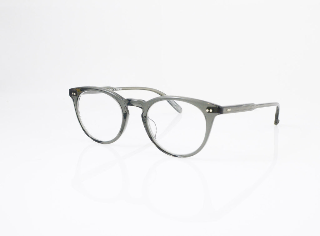 GLCO Rose Eyeglasses in Grey Crystal, side view, from Specs Optometry