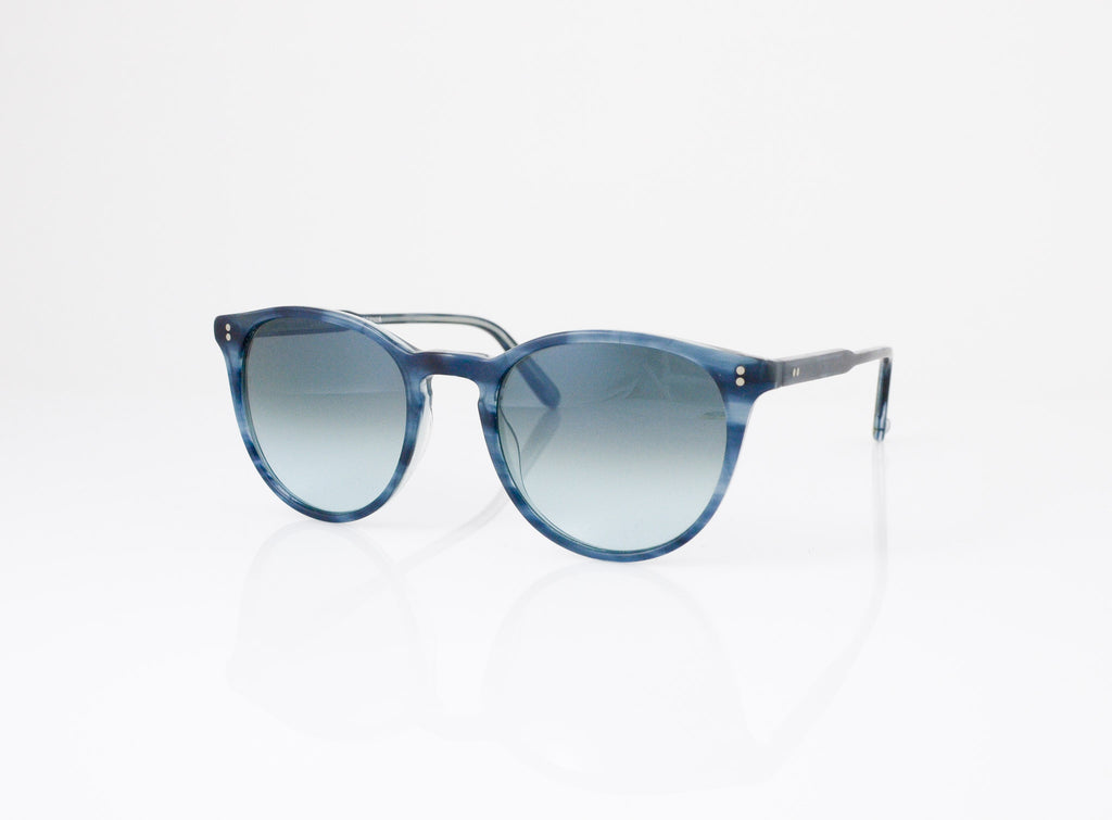 GLCO Milwood Sunglasses in Matte Indigo Tortoise, side view, from Specs Optometry