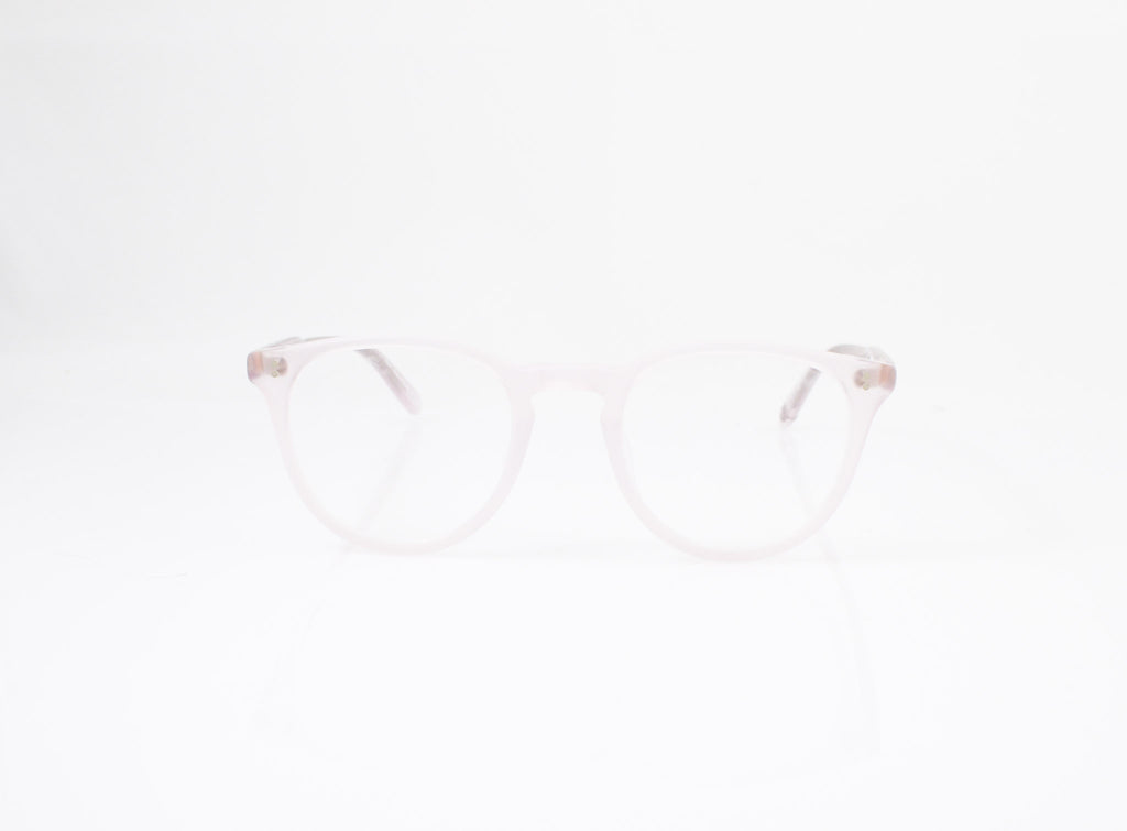 GLCO Milwood Eyeglasses in Matte Lavender, front view, from Specs Optometry
