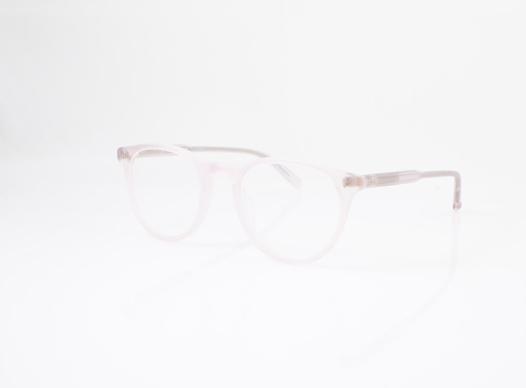 GLCO Milwood Eyeglasses in Matte Lavender, side view, from Specs Optometry
