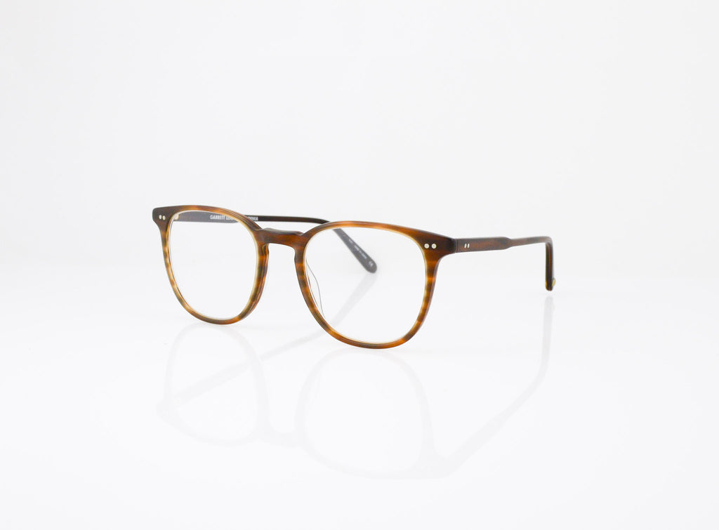 GLCO Cabrillo Eyeglasses in Matte Brown Tortoise, side view, from Specs Optometry
