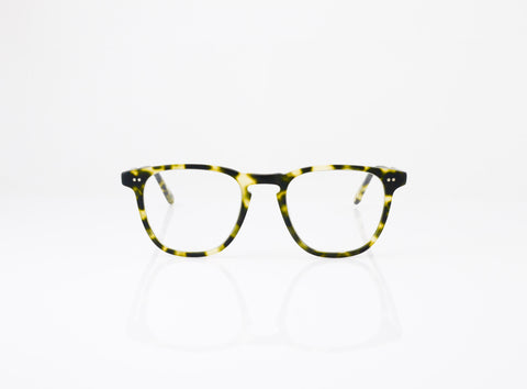 GLCO Brooks Eyeglasses in Matte Tokyo Spotted Tortoise, front view, from Specs Optometry