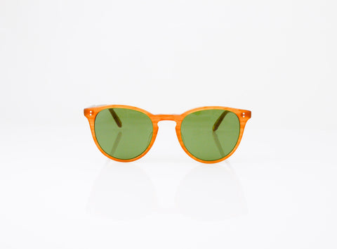 GLCO Milwood Sun in Butterscotch with Pure Green Glass, front view, from Specs Optometry