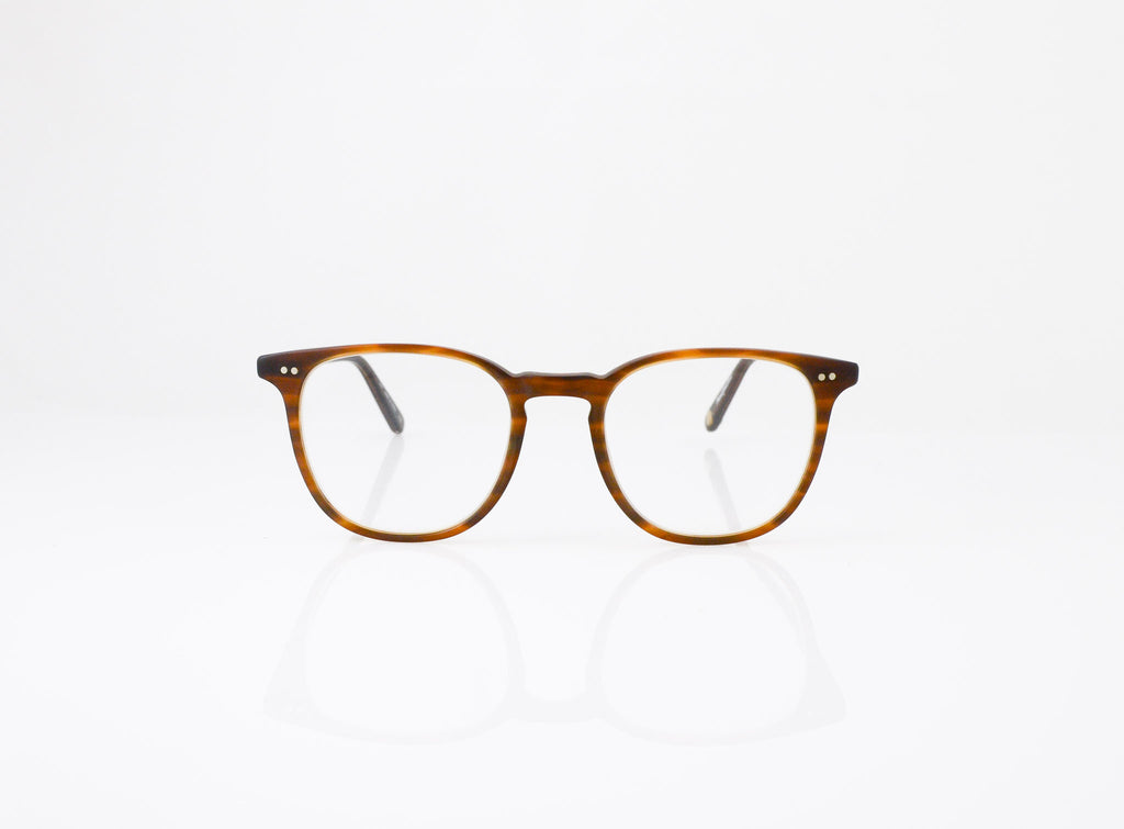 GLCO Cabrillo Eyeglasses in Matte Brown Tortoise, front view, from Specs Optometry