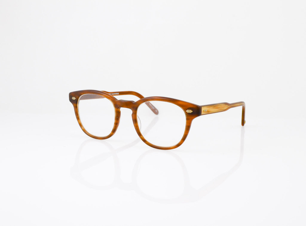 GLCO Warren Eyeglasses in Matte Demi Blonde, side view, from Specs Optometry