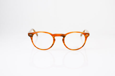 Moscot Frankie Eyeglasses in Blonde, front view, from Specs Optometry