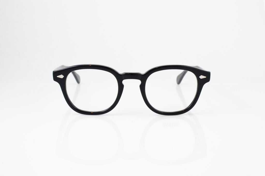 Moscot Lemtosh Eyeglasses in Black, front view, from Specs Optometry