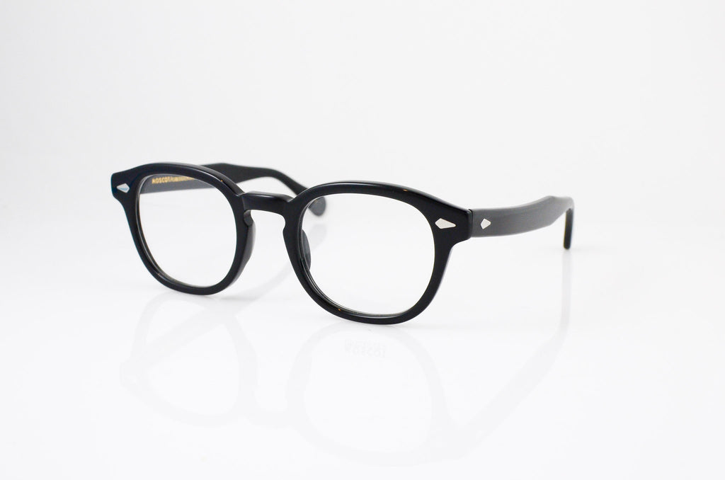 Moscot Lemtosh Eyeglasses in Black, side view, from Specs Optometry