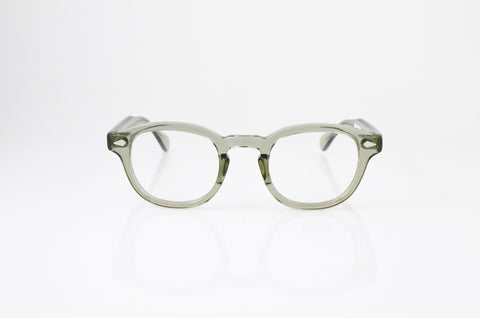 Moscot Lemtosh Eyeglasses in Sage, front view, from Specs Optometry