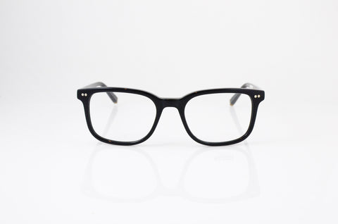 Moscot Pat Eyeglasses in Black, front view, from Specs Optometry