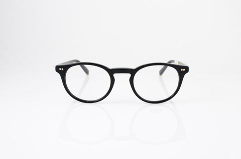 Moscot Frankie Eyeglasses in Black, front view, from Specs Optometry