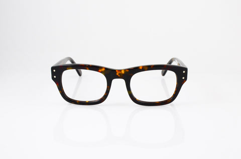 Moscot Nebb Eyeglasses in Tortoise, front view, from Specs Optometry