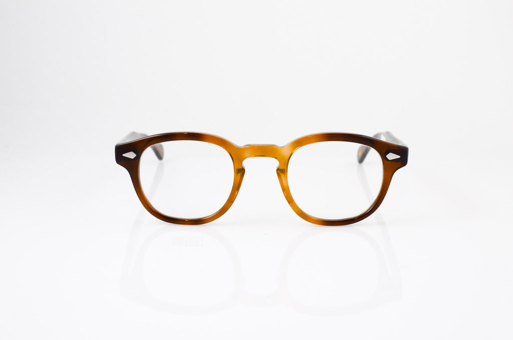 Moscot Lemtosh Eyeglasses in Tobacco, front view, from Specs Optometry