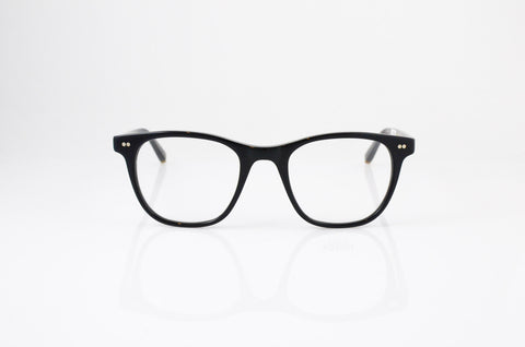 Moscot Noah Eyeglasses in Black, front view, from Specs Optometry