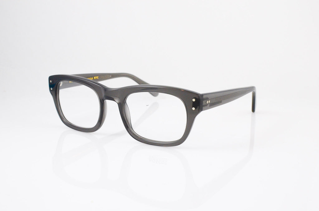 Moscot Nebb Eyeglasses in Grey, side view, from Specs Optometry