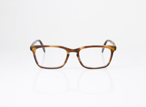 f44d96e7c1 Front shot of SALT. Optics Reid Eyeglasses in Matte Tweed Moss