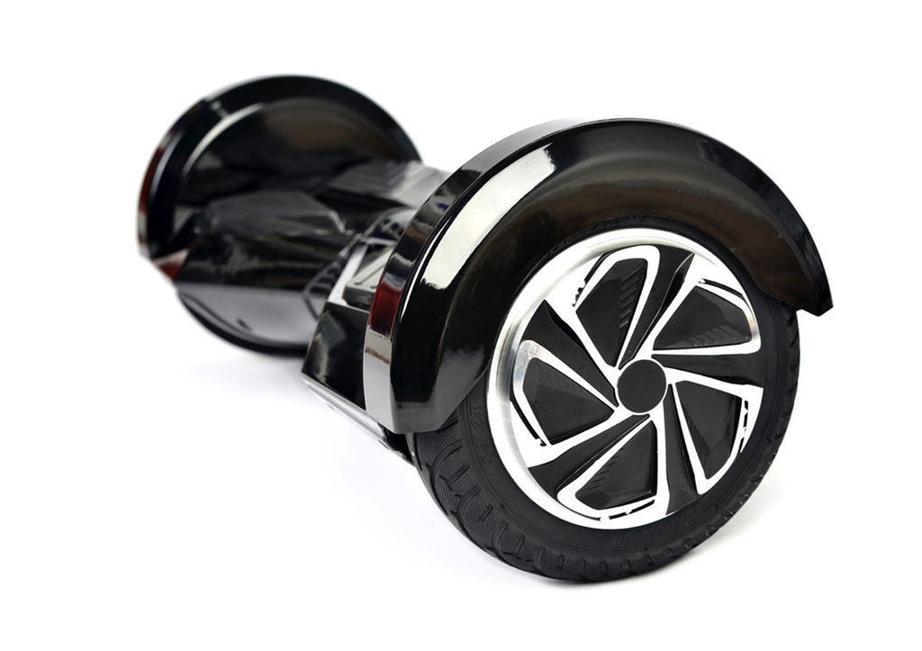 "Black 8"" Swegway Hoverboard (Bluetooth)"