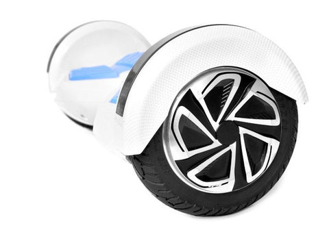 "Blue & White 8"" Swegway Hoverboard (Bluetooth)"