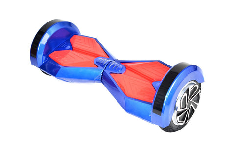 "Blue & Red 8"" Swegway Hoverboard (Bluetooth)"