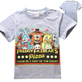 Five Nights at Freddy's pizza shirt