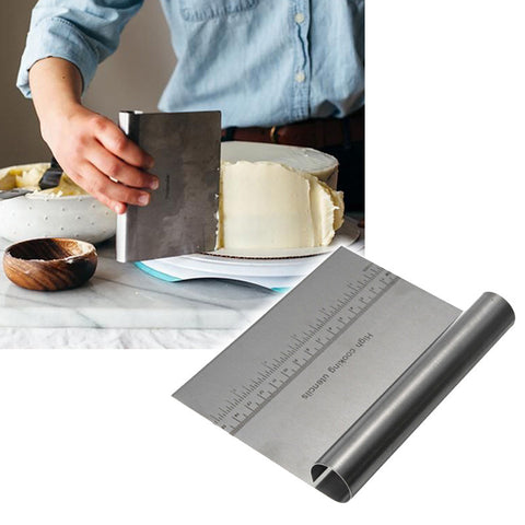 Stainless Steel Pizza Dough Scraper