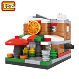 LOZ Mini Blocks Mini Pizza Shop and More