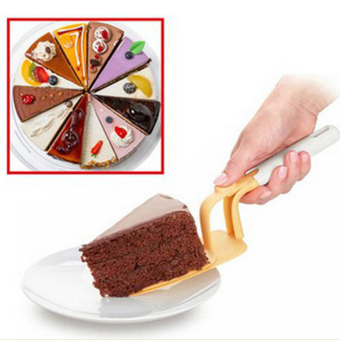 Cake Server With 2 Layer Plate Easy Release
