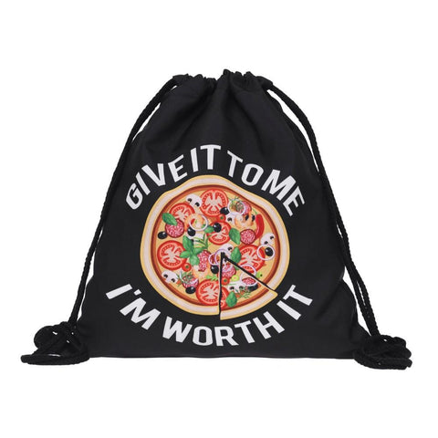 Pizza 3D Printing backpack