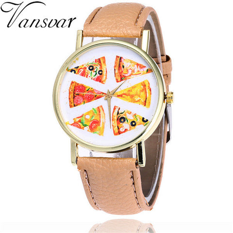 Vansvar Fashion Pizza Watch