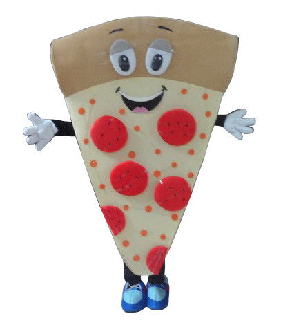 Cartoon Character Adult cute pizza Mascot Costume