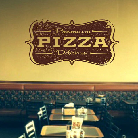 Pizza Wall Decal