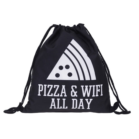 Who Cares pizza letter 3D Printing Backpacks