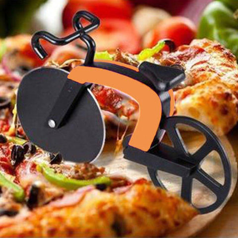 Pizza Cutter Stainless Steel Bike