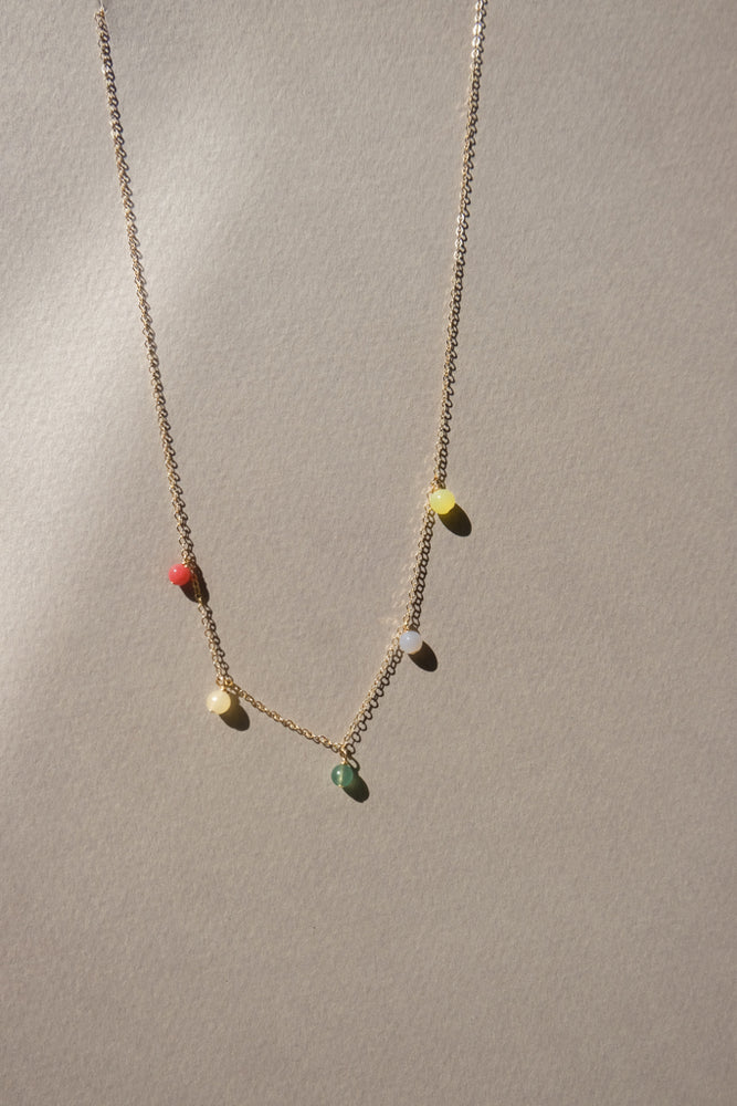 Load image into Gallery viewer, Mini Color Short Necklace - MUNS