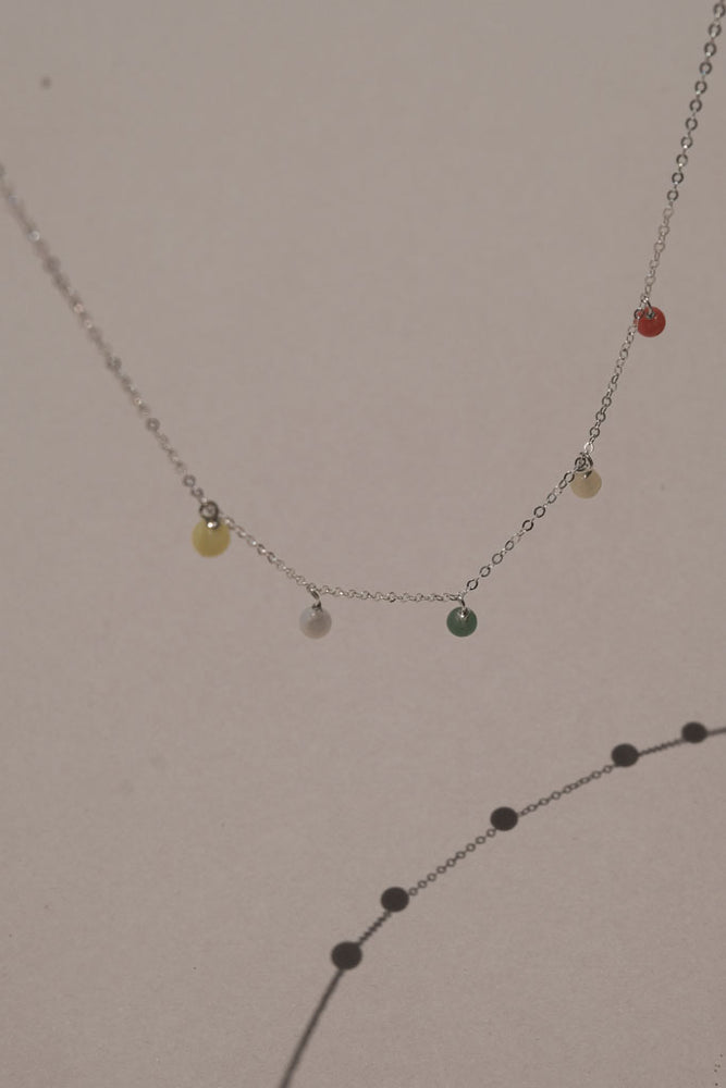 Mini Color Short Necklace