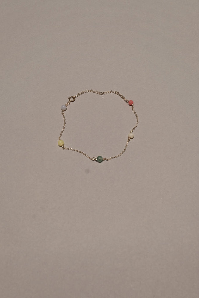Mini Color Beaded Bracelet