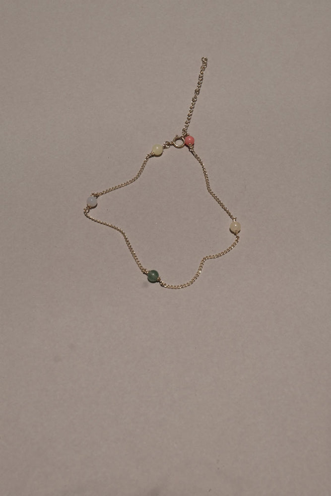 Mini Color Beaded Anklet