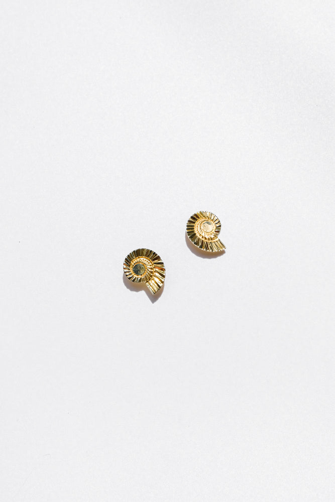 Load image into Gallery viewer, Caracol Earrings