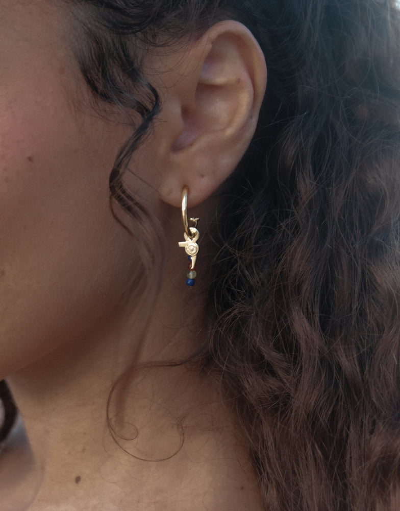 Comb Charm Earrings