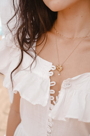 Amor Necklace with Pearl - MUNS