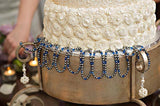 Wedding Cake Pull Crystal/Pearl Stretchy Bracelets